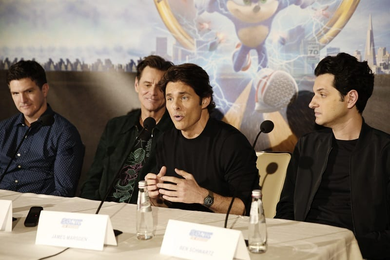 James Marsden sonic the hedgehog interview