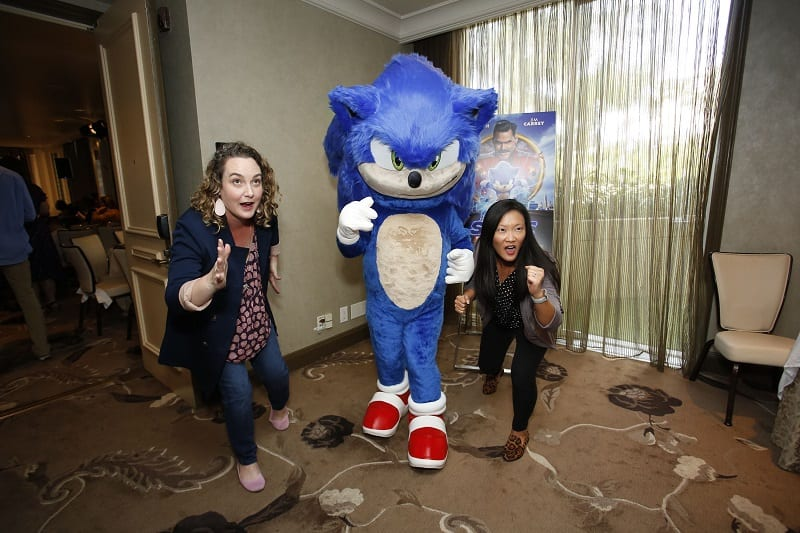 Sonic the hedgehog press conference