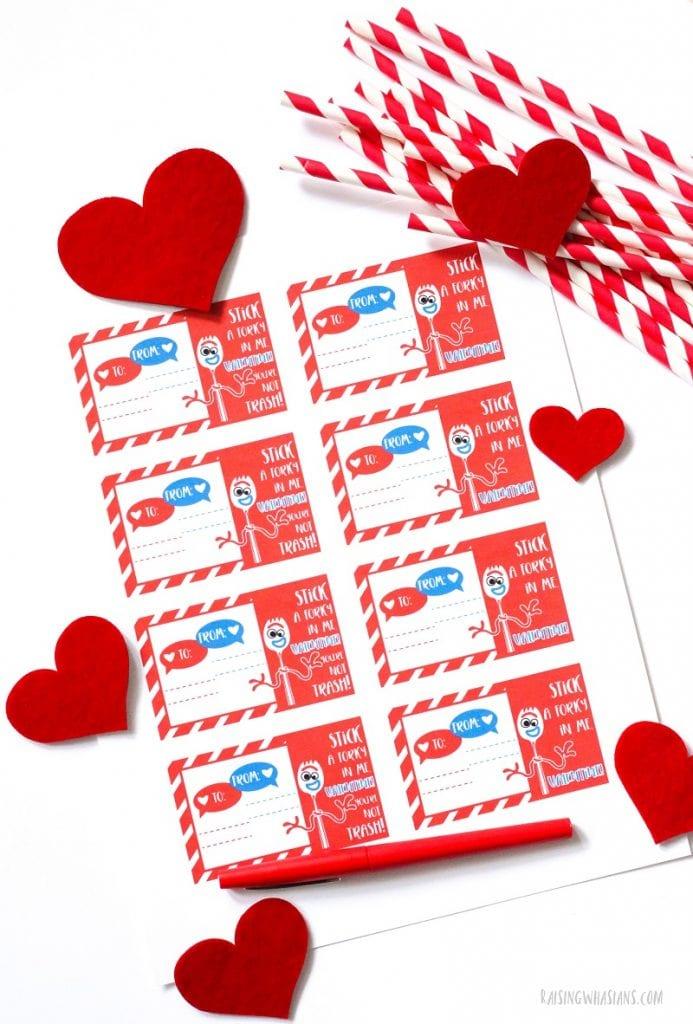 Forky valentines